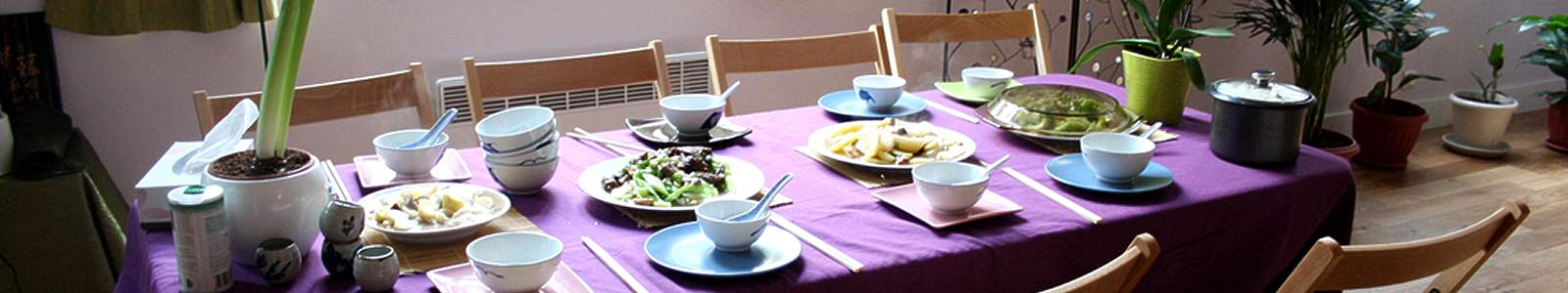 table repas chinois bio